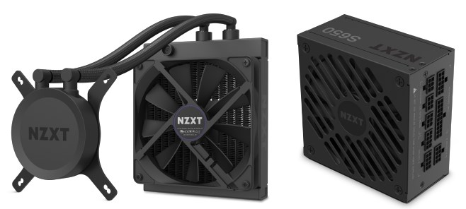 NZXT H1 Tempered Glass Mini-ITX Case with 650W PSU - Matte Black - Overview 4