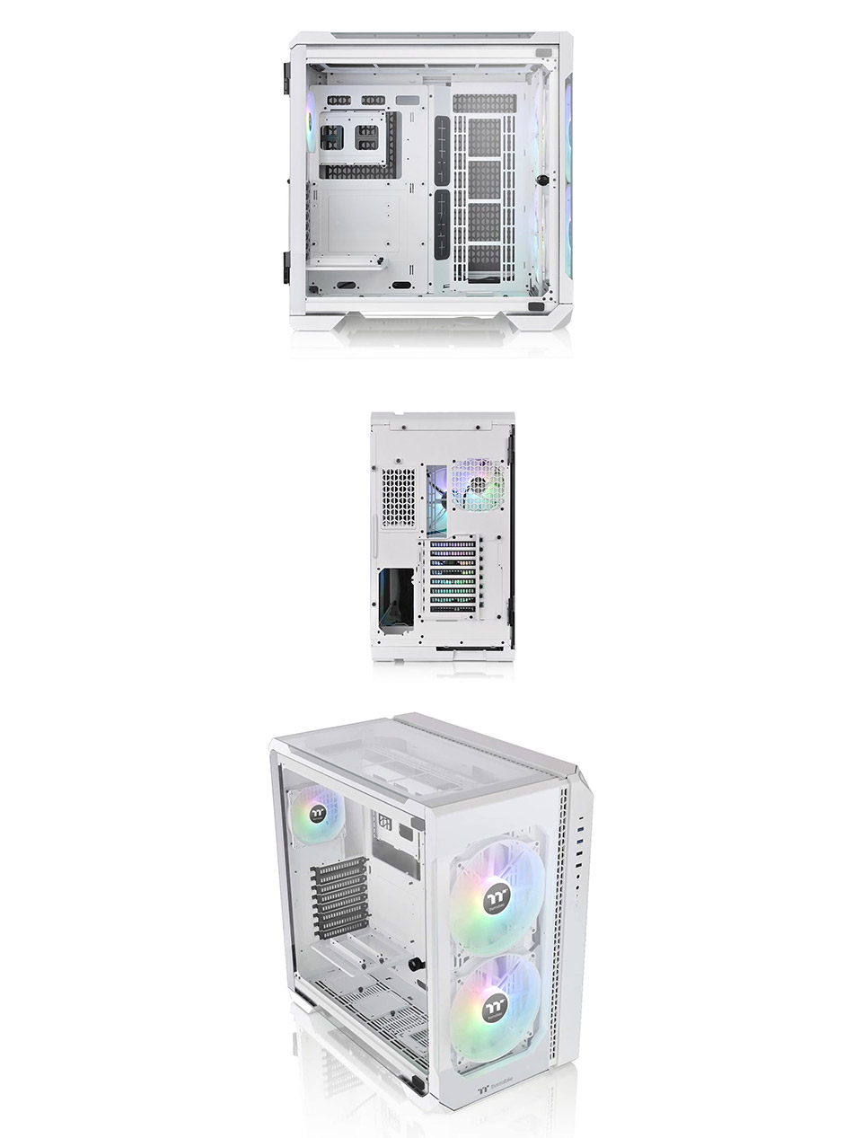 Thermaltake View 51 A-RGB Tempered Glass Case White product