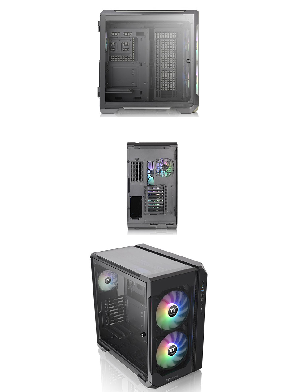 Thermaltake View 51 A-RGB Tempered Glass Case Black product