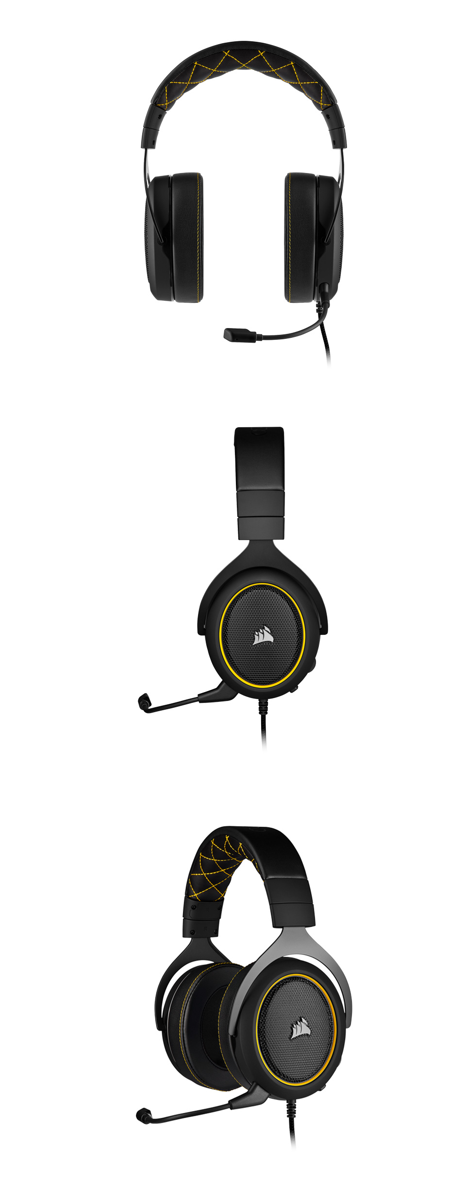 Corsair HS60 PRO Surround Gaming Headset Yellow product