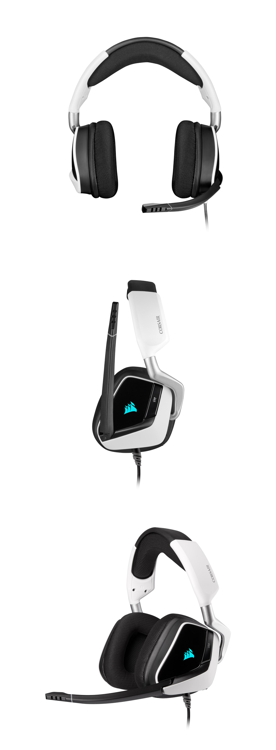 Corsair VOID RGB Elite Headset with 7.1 Surround White product