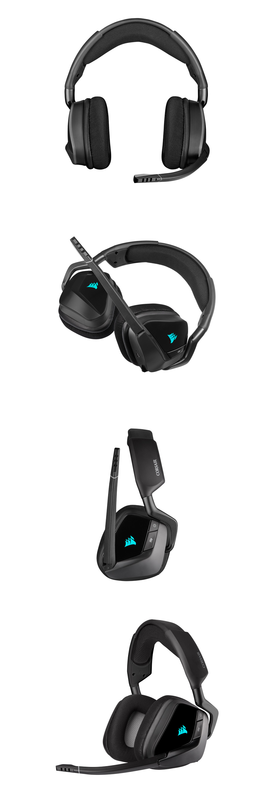 Corsair VOID RGB Elite Wireless Headset with 7.1 Surround Carbon product