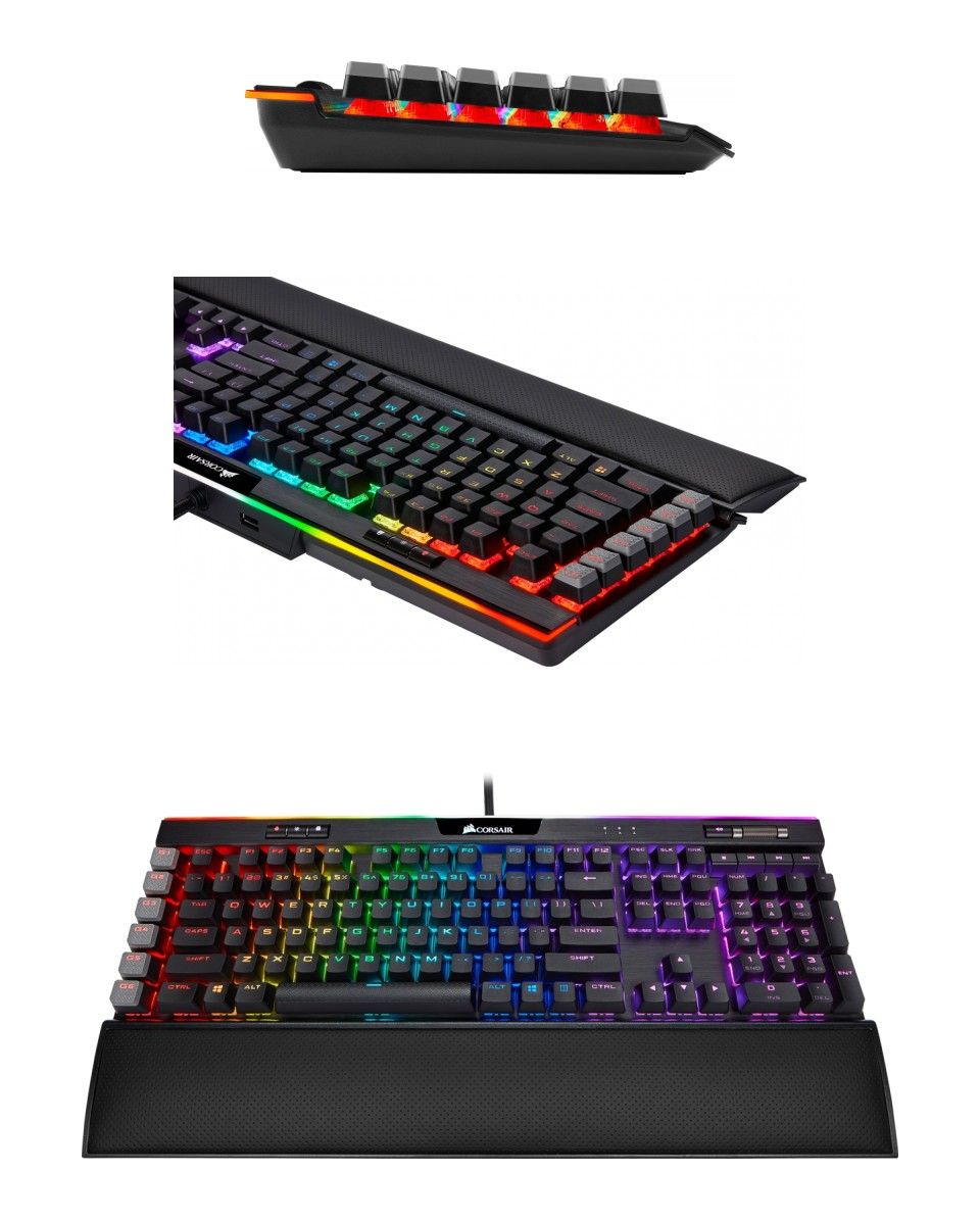 Corsair K95 Platinum XT RGB Mech Keyboard Cherry MX Brown product